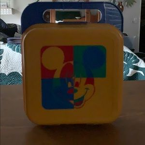 Tupperware classic Mickey Mouse Lunchbox/Storage